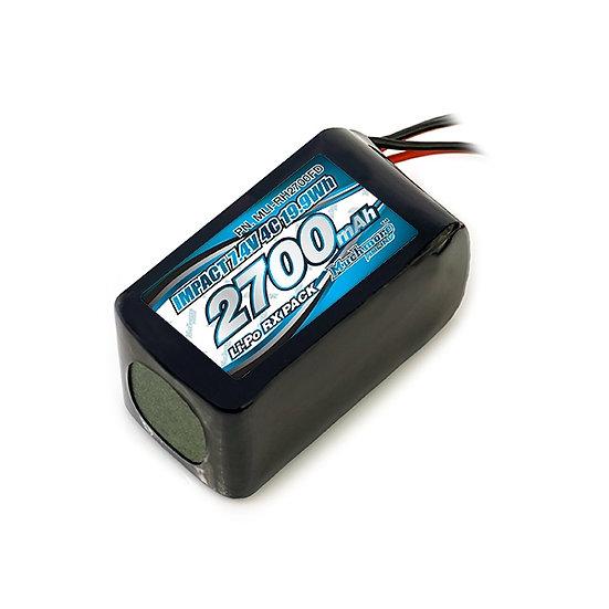 Muchmore IMPACT Li-po Battery 2700mah/7.4V 4C HUMP RX