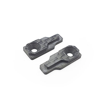 RC MAKER GEOCARBON BATTERY CLAMP SET FOR TOURING CARS (UNIVERSAL)