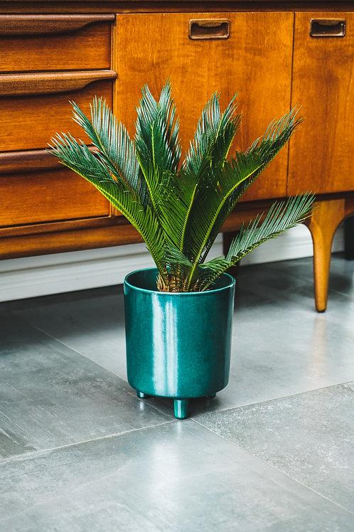 Pisa Planter Teal - Fits 18cm Plants
