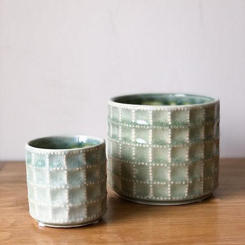 Sage Sorrento Ceramic Pot