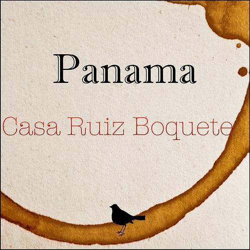 Panama - Casa Ruiz Boquete