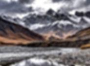 Kel Suu mountains