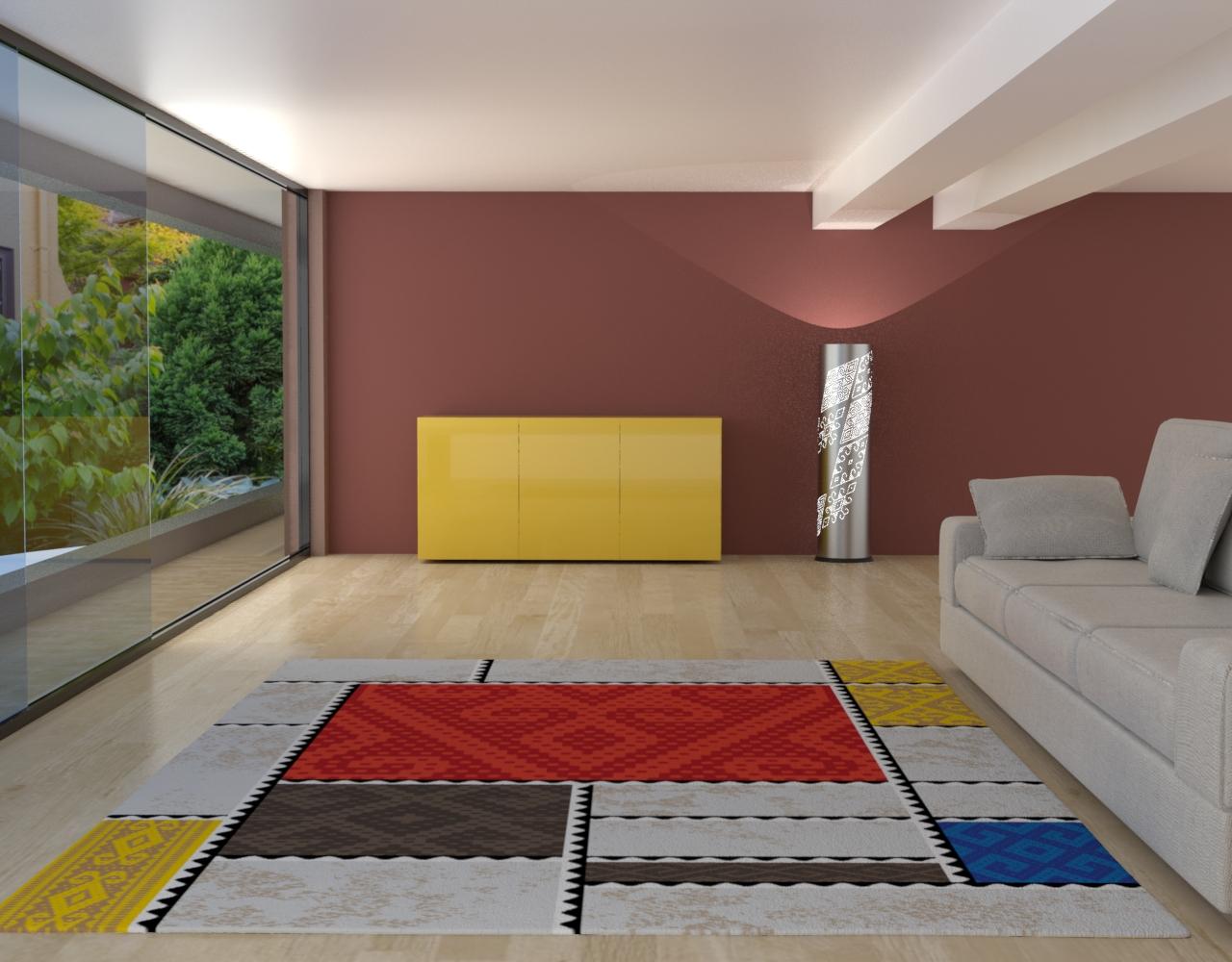 Modern kyrgyz carpets