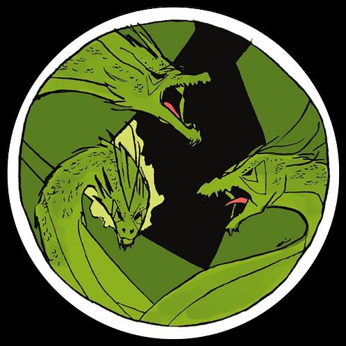 Triple Green Dragon