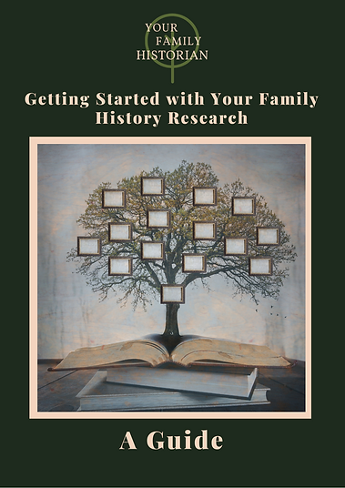 Your Family Historian - Getting Started
