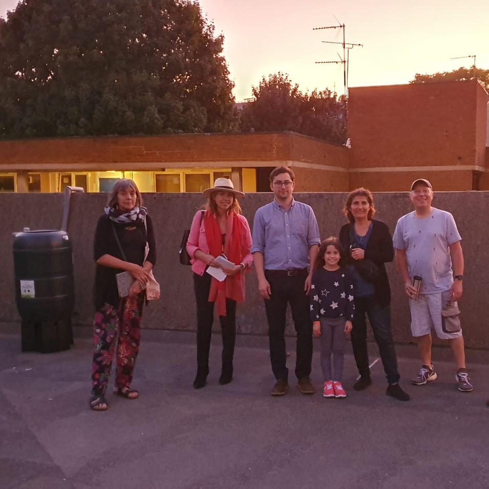 Joanna,  Gaye, Mahin, Robert (Charlotte child), Gary, Clive