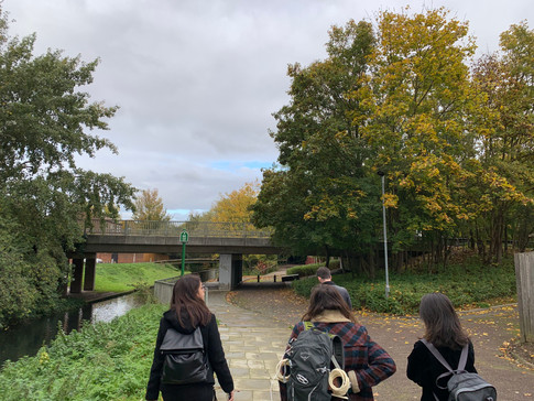 Thamesmead field visit, October 2019.  Photo by Pepe Puchol-Salort