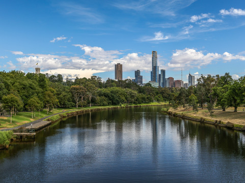 The River is a Person: a postcard from Melbourne