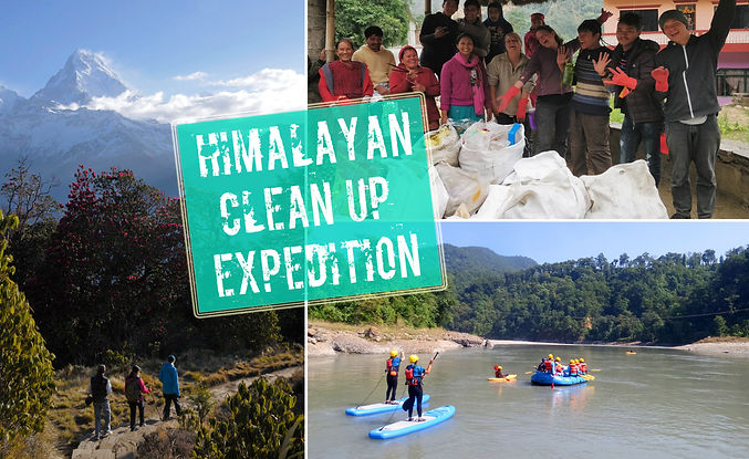 Himalayan Clean Up Expedition 2019 - sma