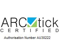 ARCTICK CERTIFIED AU30222