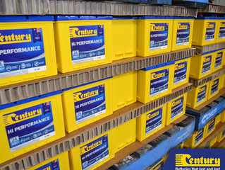 Century - Batteries that last and last....