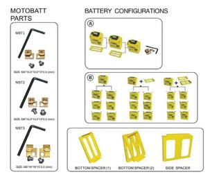 Motobatt Battery Configurations