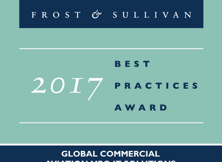 """1Ansah wins """"2017 Global Commercial Aviation MRO IT Solutions Enabling Technology Leadership Aw"""