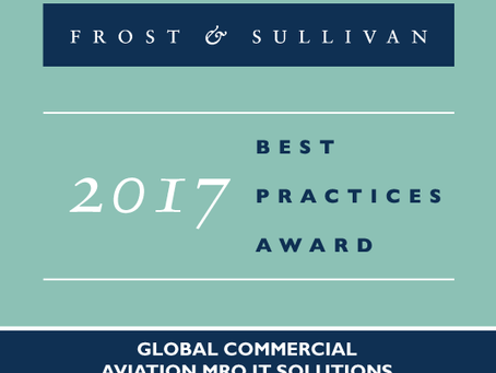 "1Ansah wins ""2017 Global Commercial Aviation MRO IT Solutions Enabling Technology Leadership Aw"