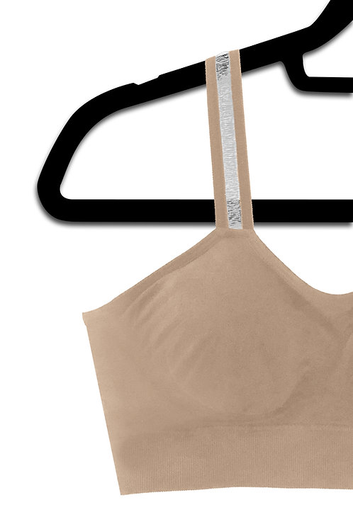 Nude Sheer Strap (attached to our nude bra)