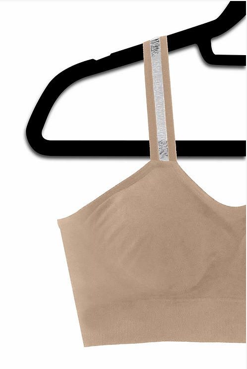NUDE SHEER (attached to our plus size nude bra)