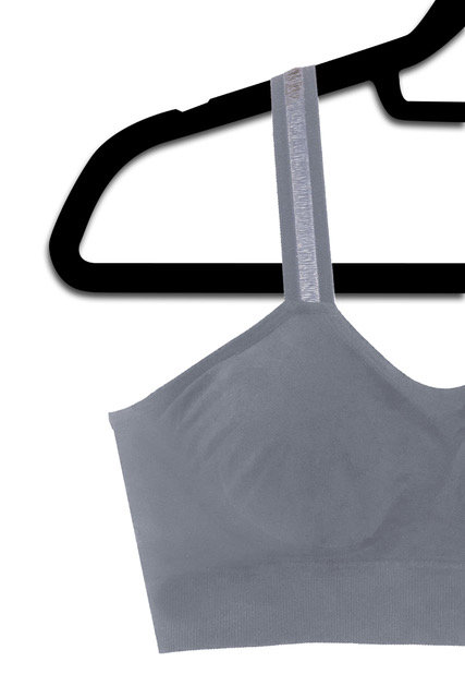 Slate Gray Sheer (attached to our slate bra)