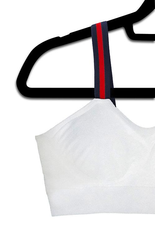 G STRIPE (attached to our plus size white bra)