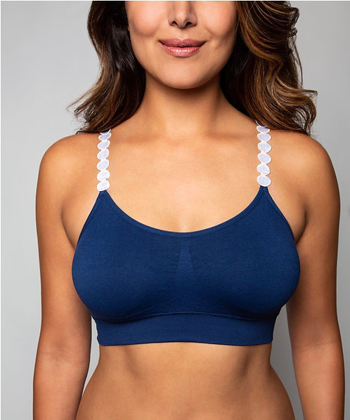 NAVY BRA (strap not included)