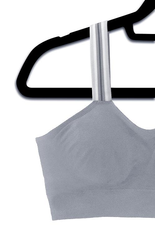 Grey Stripe (attached to our slate grey bra)