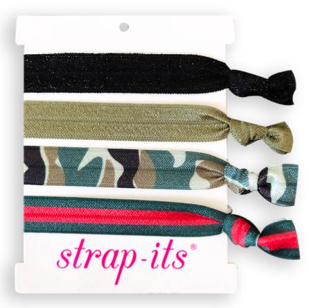 Hair Tie G-Stripe 4-Pack