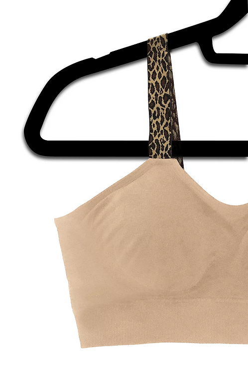 LEOPARD (attached to our nude plus size bra)