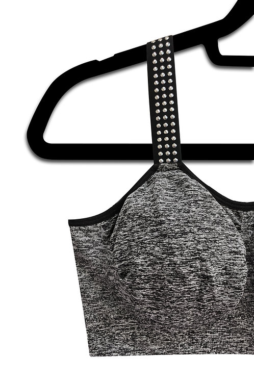 Silver Studs (attached to our heather gray bra)