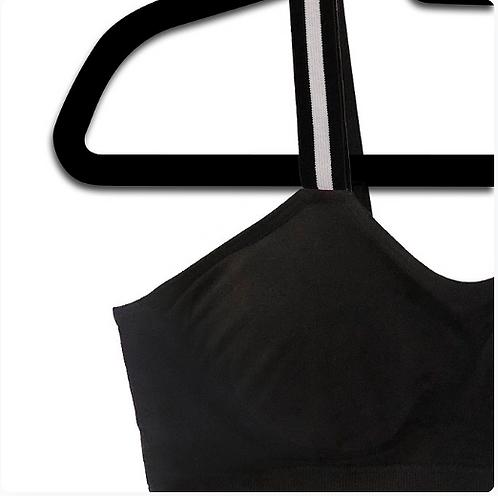 TUXEDO STRIPE (attached to our plus size black bra)