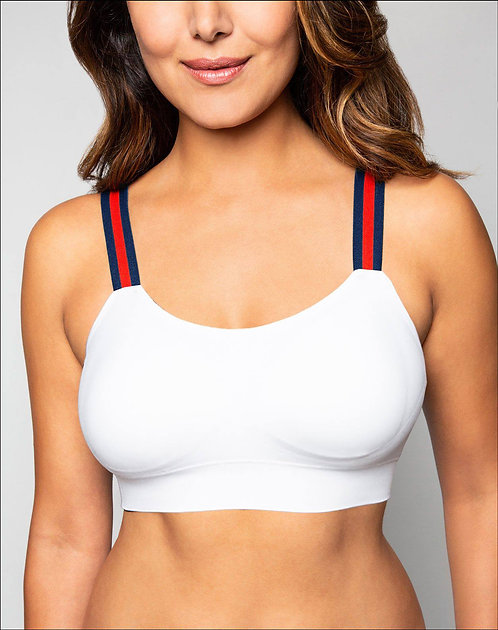 "WHITE ""G"" STRIPE  (attached to our white bra)"
