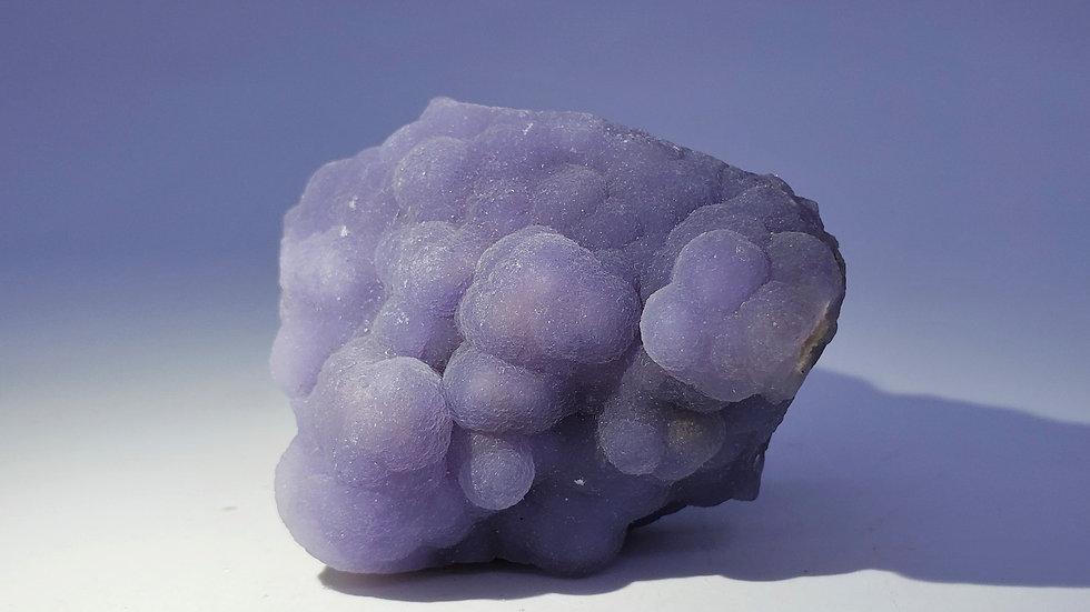 Rare Botryoidal Purple Fluorite on Matrix from Minggang Mine, Henan, China