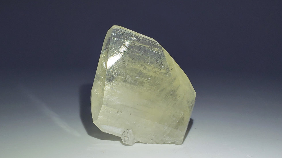 """""""Diamond"""" Calcite (Fluorescent) from Daye Copper Mine, China"""