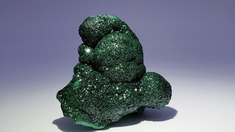 Malachite from Star of the Congo Mine
