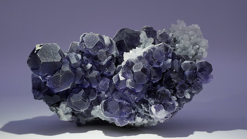 Fluorite and Quartz from Xiayang Mine, China