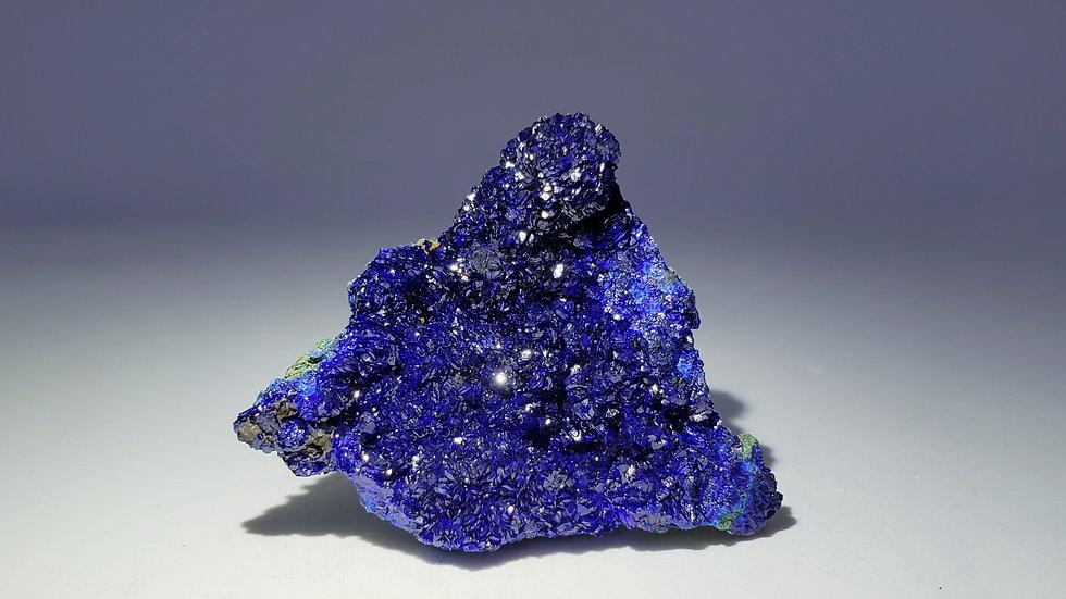 Azurite and Malachite from Liufengshan Mine, Anhui, China