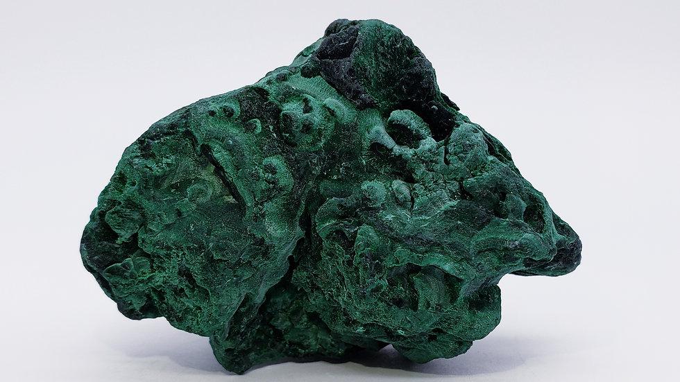 Fibrous Malachite from Mashamba Mine, Congo