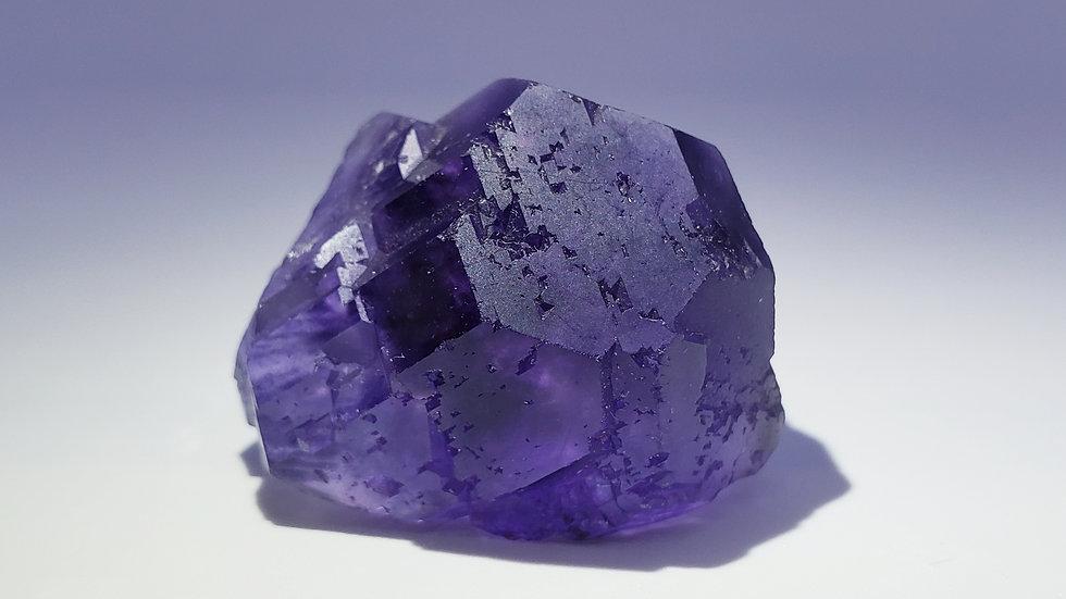 Deep Purple Phantom Fluorite from Xia Yang Mine