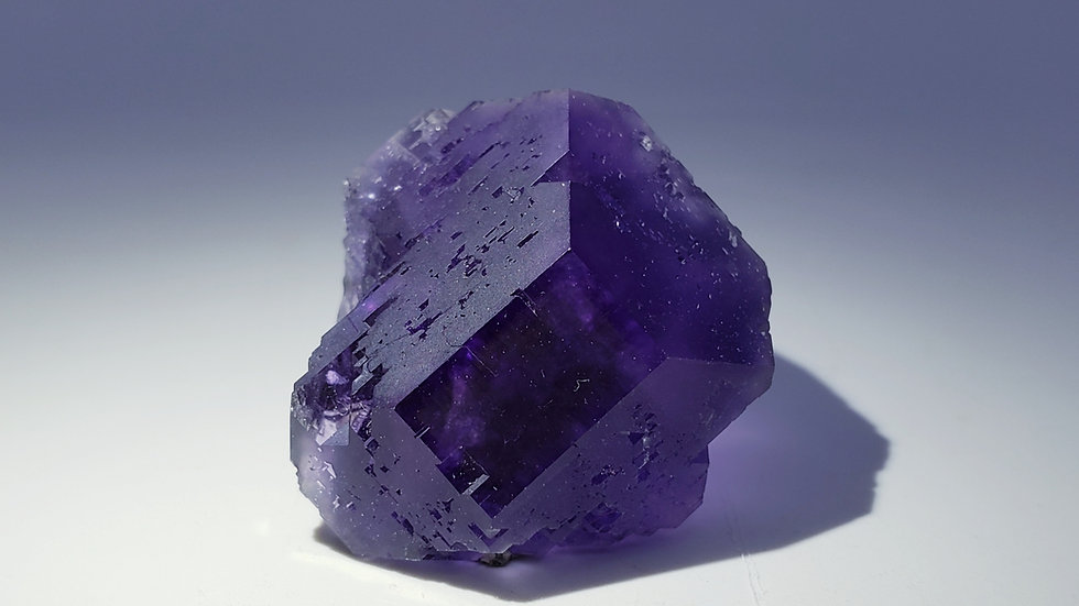 Purple Fluorite from Xia Yang Mine, Fujian, China