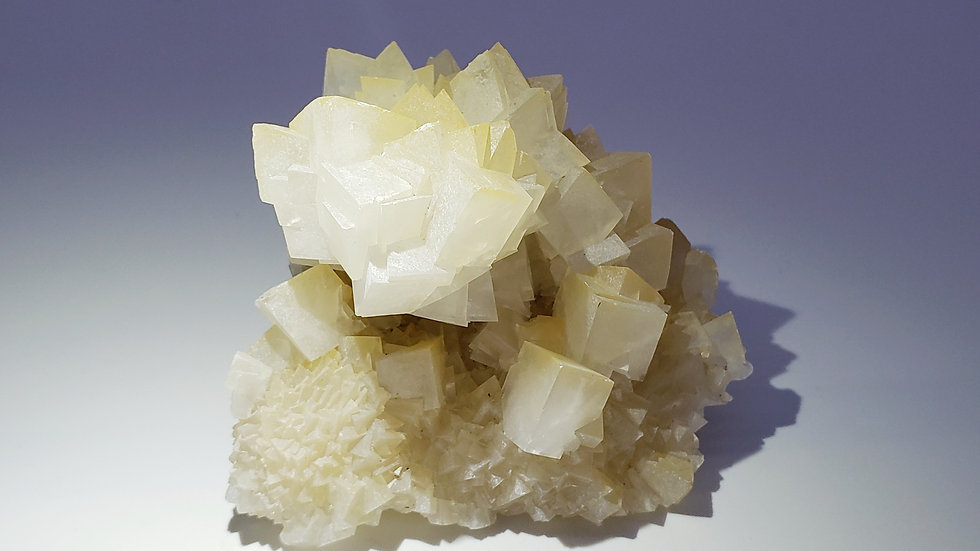"""Stalactitic Calcite """"Flower"""" Crystals from Wenshan Mine, Yunnan, China"""