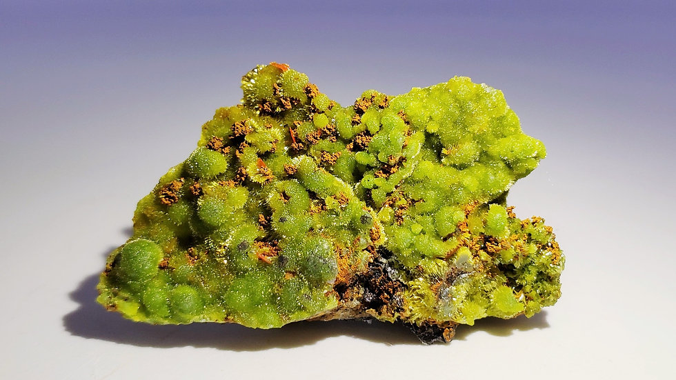 Rare Botryoidal Pyromorphite on Matrix from Daoping Mine, China