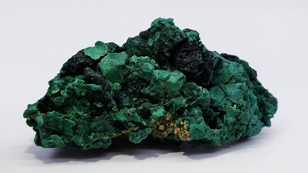 Fibrous Malachite from Mashamba Mine, Congo