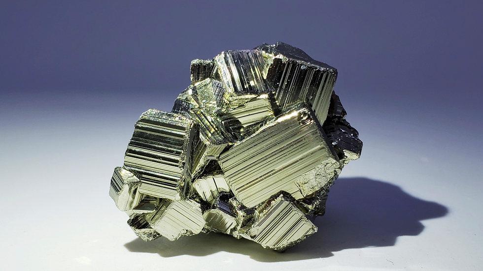Pyrite from Huanzala Mine, Áncash, Peru