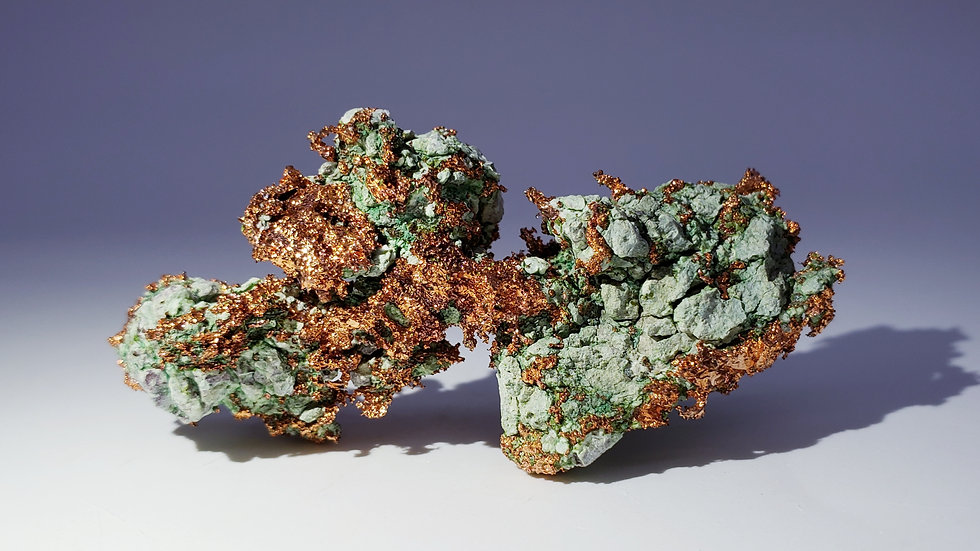 Collector's Piece: Native Copper from Keweenaw Co., Michigan, USA