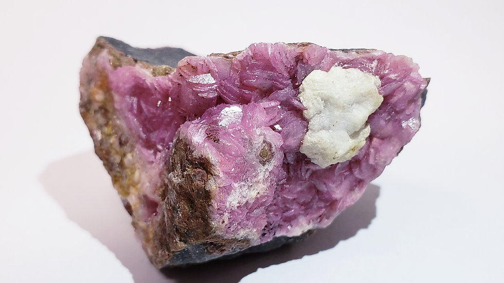 Pink Cobaltoan Calcite from Morocco