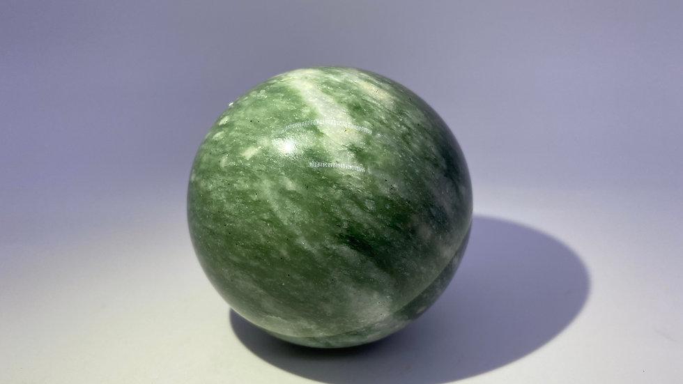 Large Aventurine Crystal Sphere from Wensu Co., Xinjiang, China