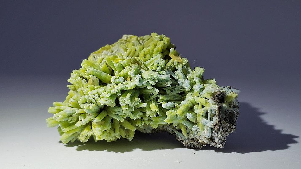 Collector's Piece: Plumbogummite pseudomorph Pyromorphite from Yangshuo Mine