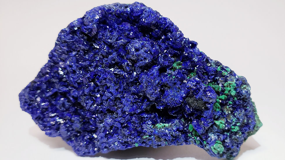 Gemmy Azurite and Malachite Specimen from Laos