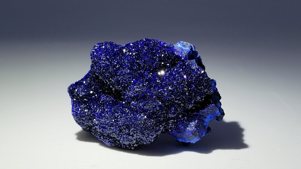 Azurite from Liufengshan Mine, Anhui, China