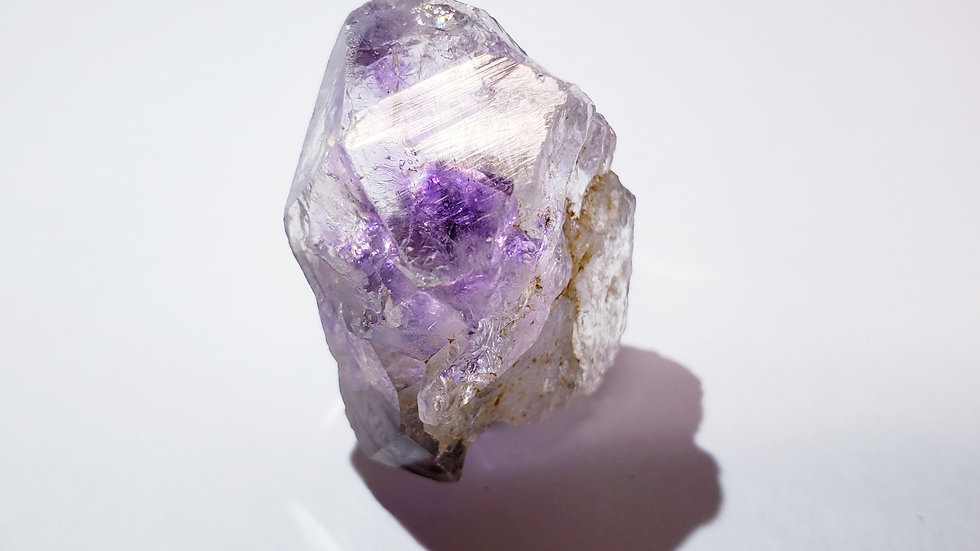 Brandberg Intense Purple Amethyst Crystal Point from Namibia