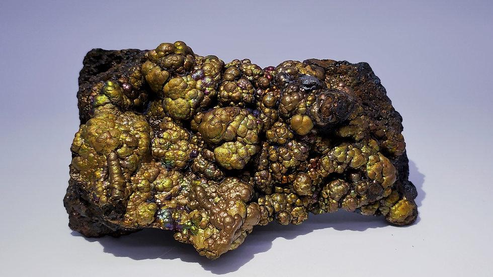 Rainbow Iridescent Goethite from Ruyuan Co., China