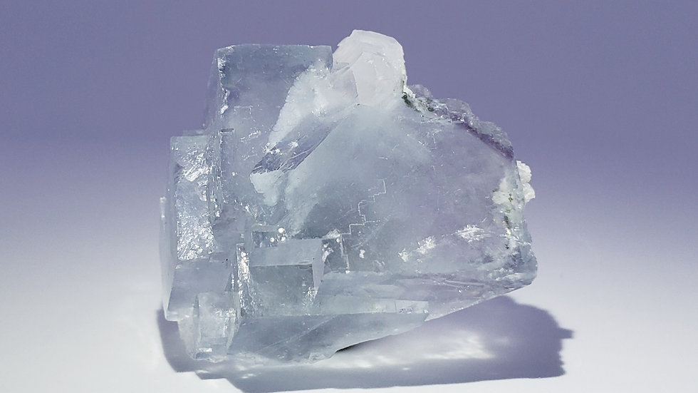 Fluorite and Quartz from Yaogangxian Mine